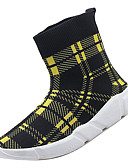 cheap Men's Shirts-Men's Comfort Shoes Mesh / Elastic Fabric Fall Sporty Athletic Shoes Running Shoes Non-slipping Black / White / Black / Red / Black / Yellow