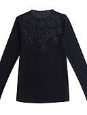 ieftine Tricou-Pentru femei Stil Nautic Tricou / Bluză Ieșire / Muncă Mată / Zvelt