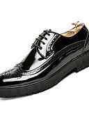 ieftine Tricou Bărbați-Bărbați Pantofi de piele PU Toamnă Casual Oxfords Impermeabil Negru / Galben / Albastru