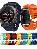 halpa Smartwatch-nauhat-Watch Band varten Fenix 5x Plus / Fenix 3 HR / Fenix 3 Garmin Urheiluhihna Silikoni Rannehihna
