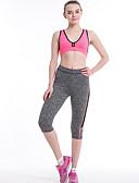 povoljno Ženske hlače-Žene Osnovni Legging - Color block Visoki struk