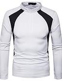 ieftine Maieu & Tricouri Bărbați-tricou pentru bărbați - gât de echipaj pentru blocuri de culoare