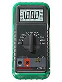ieftine Oțel Inoxidabil-mastech my6243 digital c / l inductivitate 2m / 20m / 200mh / 2h capacitate contor 2nf-200uf