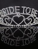abordables Robe Demoiselle d'Honneur-Alliage Diadèmes avec Détail Cristal 1 Pièce Mariage / Occasion spéciale Casque