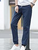 abordables Pantalones y Shorts de Hombre-Hombre Tallas Grandes Delgado Chinos Pantalones - Un Color