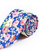 ieftine Cravate & Papioane de Bărbați-Unisex Floral / Bloc Culoare Funde Petrecere / De Bază Papion Cravată