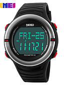 cheap Military Watches-SKMEI Men's Women's Sport Watch Digital Watch Digital 30 m Water Resistant / Water Proof Calendar / date / day Chronograph Silicone Band Digital Casual Black / Green - Red Green Blue / Tachymeter