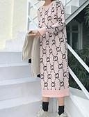 povoljno Ženski džemperi-Žene Osnovni Pullover Geometrijski oblici