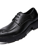 ieftine Tricou Bărbați-Bărbați Pantofi formali Imitație Piele / PU Toamnă Oxfords Negru