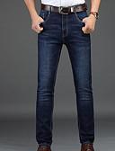 cheap Men's Pants & Shorts-Men's Basic Jeans Pants - Solid Colored