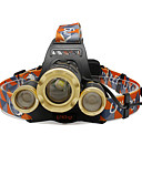 cheap Mechanical Watches-4800 lm Headlamps / Headlight LED 3 / 4 Mode - U'King Zoomable / Adjustable Focus / Compact Size