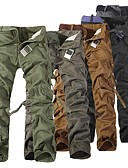 cheap Women's Dresses-Men's Hiking Pants Hiking Cargo Pants Outdoor Windproof Breathability Wearable Pants / Trousers Hunting Hiking Camping Grey Dark Gray Khaki XXS 5XL 6XL