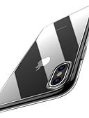 זול מגנים לאייפון-מגן עבור Apple iPhone XS / iPhone XR / iPhone XS Max אולטרה דק / שקוף כיסוי אחורי אחיד רך TPU