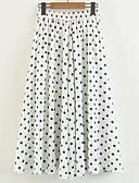 olcso Női szoknyák-Női Hinta Kínai Szoknyák - Pöttyös