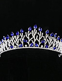 cheap Mother of the Bride Dresses-Alloy Tiaras with Rhinestone 1 Piece Wedding Headpiece