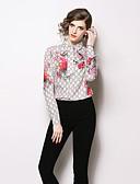 abordables Tops de Mujeres-Mujer Boho Estampado Camisa Geométrico