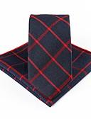 abordables Corbatas y Pajaritas para Hombre-Unisex Cravat y Ascot - Básico A Rayas / Estampado / Bloques