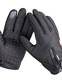 preiswerte Damenuhren-Fahrradhandschuhe / Skihandschuhe / Touch- Handschuhe Herrn / Damen Vollfinger Windundurchlässig / Wasserdicht / warm halten Segeltuch / Vlies Skifahren