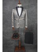 זול טוקסידו-אחיד גזרה מחוייטת פוליאסטר חליפה - פתוח Single Breasted One-button