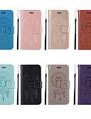preiswerte Handyhüllen-Hülle Für Xiaomi Xiaomi Redmi 6 Pro / Redmi S2 Geldbeutel / Kreditkartenfächer / mit Halterung Ganzkörper-Gehäuse Eule Hart PU-Leder für Xiaomi Redmi Note 6 / Xiaomi Redmi 6 Pro / Redmi 6