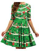 tanie Sukienki-Damskie Elegancja Pochwa Sukienka - Solidne kolory / Geometric Shape Nad kolano
