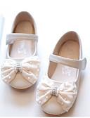 hesapli Gelin Şalları-Genç Kız Ayakkabı Koyun Derisi İlkbahar yaz Hafif Tabanlar Düz Ayakkabılar Fiyonk için Çocuklar / Toddler Bej / Pembe