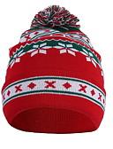 billige Damehatte-Dame Basale Blød Hat Geometrisk