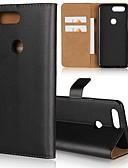 halpa Puhelimen kuoret-Etui Käyttötarkoitus OnePlus OnePlus 6 / One Plus 5 / OnePlus 5T Lomapkko / Korttikotelo / Tuella Suojakuori Yhtenäinen Kova aitoa nahkaa