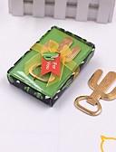 billige Flaskegaver-Ikke-personaliseret Chrome Flaskeåbnere Blomster Tema / Kreativ / Vintage tema Flaske Gave Til Gæster