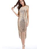 זול שמלות NYE-בגדי ריקוד נשים וינטאג' מכנסיים - אחיד ורד ורוד מסמיק
