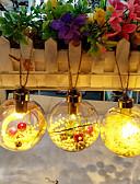 abordables Sostenes-Luces de Navidad / Navidad / ornamentos de Navidad Navidad / Vacaciones / Árbol de Navidad PVC árbol de Navidad / Circular Fiesta / Novedades Decoración navideña