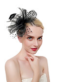 povoljno Ukrasi za kosu-Žene Kentucky Derby Vintage Elegantno Šeširi Vjenčanje Party - Jednobojni / Lan / Mrežica / Sva doba
