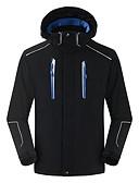 お買い得  メンズブレザー&スーツ-Bao Jeesport 男性用 スキージャケット 防風 ウォーム 通気性 キャンピング&ハイキング ウィンタースポーツ POLY ウインドブレーカー ソフトシェルジャケット ウォームトップス スキーウェア / 冬
