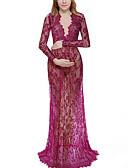 Χαμηλού Κόστους Φορέματα Παρανύμφων-Γυναικεία Κομψό Θήκη Φόρεμα - Μονόχρωμο Μακρύ