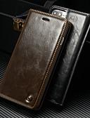 povoljno Maske za mobitele-Θήκη Za Apple iPhone 8 Plus / iPhone 7 Plus Novčanik / Utor za kartice / sa stalkom Korice Jednobojni Tvrdo PU koža