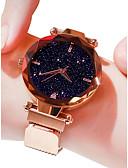 cheap Steel Band Watches-Women's Luxury Watches Wrist Watch Quartz Watches Black / Blue / Purple 30 m Water Resistant / Waterproof Imitation Diamond Analog Ladies Casual Fashion - Purple Blue Rose Gold