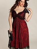 baratos Vestidos para Trabalhar-Mulheres Elegante Bainha Vestido Médio