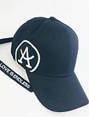 זול כובעים לגברים-כל העונות לבן שחור כובע בייסבול אחיד שחור ולבן,פוליאסטר בסיסי יוניסקס