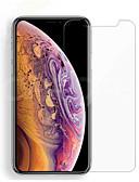 hesapli iPhone Ekran Koruyucuları-AppleScreen ProtectoriPhone XS Yüksek Tanımlama (HD) Ön Ekran Koruyucu 1 parça Temperli Cam