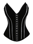 ieftine One-piece swimsuits-Normal Poliester Corset Sexy Mată Nuntă Cataramă Metalică