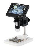 זול ביקיני ובגדי ים-אולטרה ברור 5 מיליון פיקסל עם מיקרוסקופ מסך USB HD מיקרוסקופ דיגיטלי תיקון יופי רפואי אלקטרונית זכוכית מגדלת 4.3 אינץ מסך 1000x