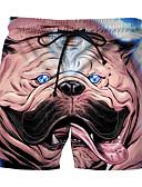 رخيصةأون Tropical Storm-التقزح اللوني L XL XXL طباعة حيوان, ملابس السباحة قطع تحتية شورت سباحة التقزح اللوني أساسي رجالي