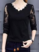 abordables Chemisiers Femme-Tee-shirt Femme, Couleur Pleine Basique Chameau