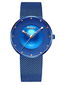 cheap Sport Watches-Men's Sport Watch Quartz Stainless Steel Black / Blue / Rose Gold Water Resistant / Waterproof Hollow Engraving Analog Casual Fashion - Black Blue Rose Gold