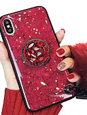 hesapli iPhone Kılıfları-Pouzdro Uyumluluk Apple iPhone XS / iPhone XR / iPhone XS Max Satandlı / IMD / Temalı Arka Kapak Mermer Yumuşak TPU