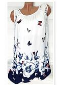 preiswerte T-Shirt-Damen Blumen T-shirt Druck