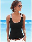 preiswerte Damen Tank-Shirts & kurze Jäckchen-Damen Solide Tank Tops Patchwork
