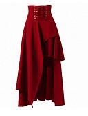 preiswerte Damen Röcke-Damen Grundlegend A-Linie Röcke - Solide