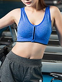 billiga Sport Bras Collection-Dam Asiatisk storlek En sensationell touch 3/4 컵 Behå Sportbehå Enfärgad Polyester