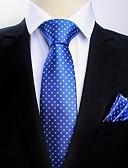 abordables Corbatas y Pajaritas para Hombre-Hombre Cravat y Ascot - Fiesta / Trabajo Floral / Estampado / Jacquard